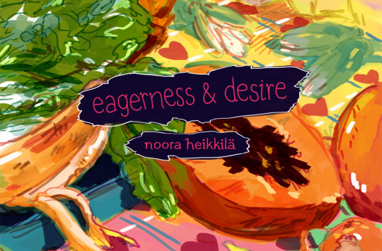 Eagerness and Desire1