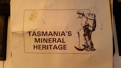 Tasmania Mineral