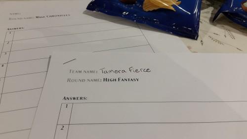Tamora Fierce
